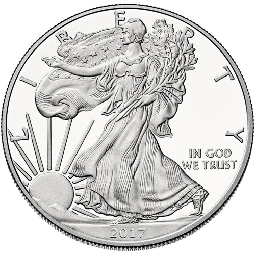 2017 Proof Silver Eagle - 30th Anniversary Edition