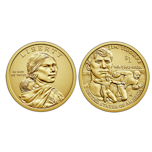 2018 Native American P Mint Coin