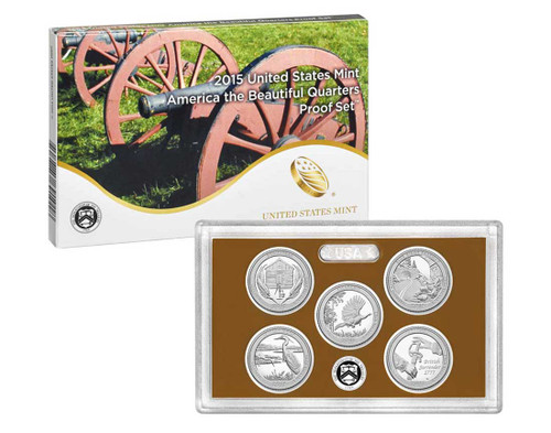 2015 Quarter Proof Set