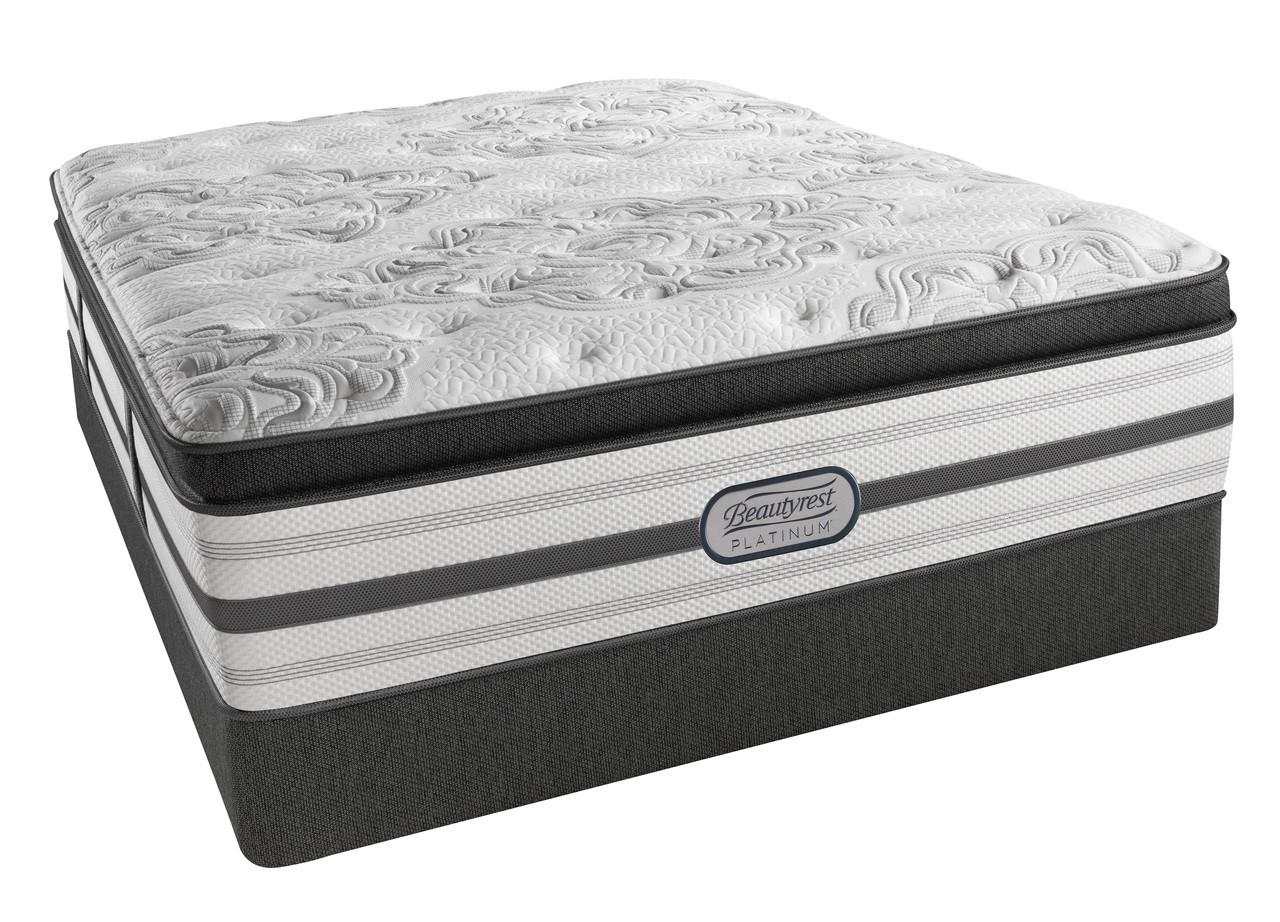 beautyrest pillow. Simmons Beautyrest Platinum Katherine Plush Pillow Top Mattress V
