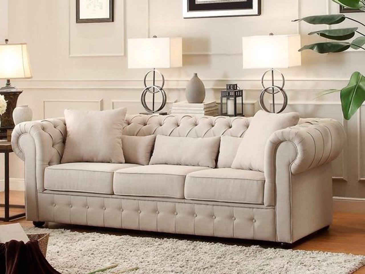 Homelegance 8427 3 Sofa In Living Room