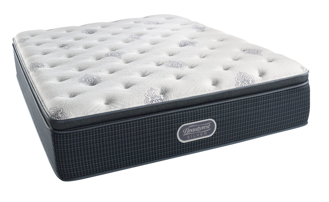 pillow top mattress. Simmons Beautyrest Silver Henderson Cove Plush Pillow Top Mattress Image 1 R