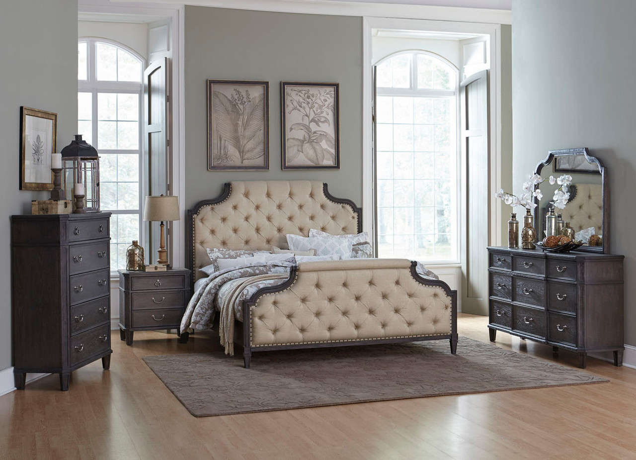 Modern Upholstered Bedroom Set Remodelling
