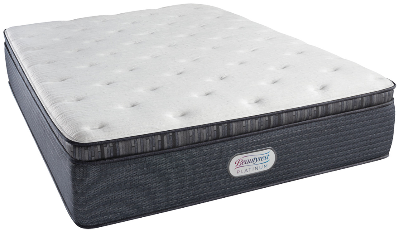 simmons beautyrest platinum belmont avenue plush pillow top mattress - Simmons Beautyrest Mattress