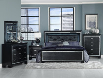 homelegance allura modern bed silver with touch engaged 12096 | allura 2 72521 1501185607 c 2