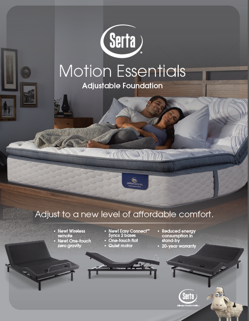 Serta Motion Essentials Iii Adjustable Bed Base Dealbeds Com