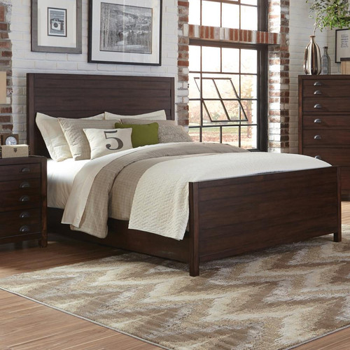 Donny Osmond Storage Bedroom Bench Reviews: Donny Osmond Lanchester Queen Panel Bed In Cocoa