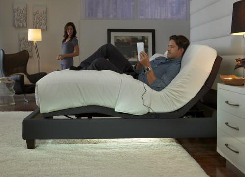 leggett platt premiere series p 232 adjustable bed base side view - Leggett And Platt Adjustable Bed