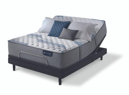 serta icomfort hybrid blue fusion 500 extra firm mattress with adjustable - Extra Firm Mattress