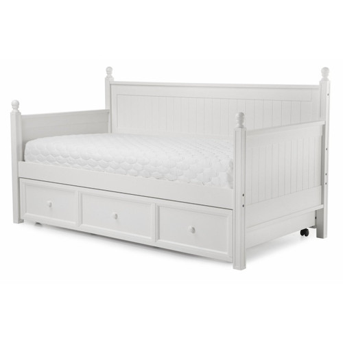 Fashion Bed Group Casey Daybed With Trundle In White