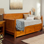 Fashion Bed Group Casey Daybed with Trundle in Honey Maple 9
