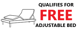 Free Adjustable Bed Promo