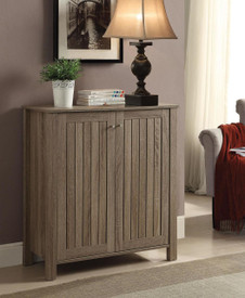 Coaster Ansley Shoe Cabinet In Weathered Gray Dealbeds Com