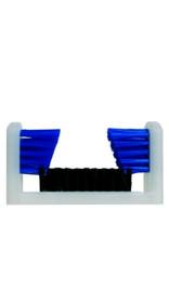Boot Brush, Blue & Black Polypropylene SB1000