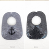 FRONT: Stone w/Black Anchor BACK: Black