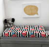 Changing Pad Cover - Stripes & Roses