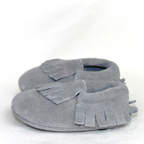 Moccasins - Feather Suede
