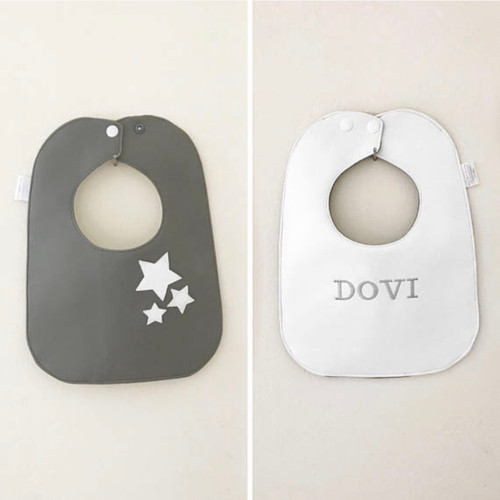 Monochrome Collection - Stars Bib