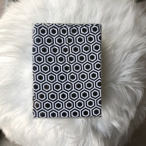 Changing Pad Cover - Geo Print