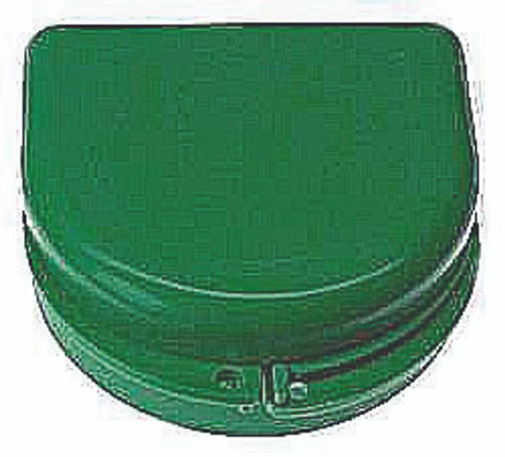 Green Sparkle Retainer Cases - 25 pk