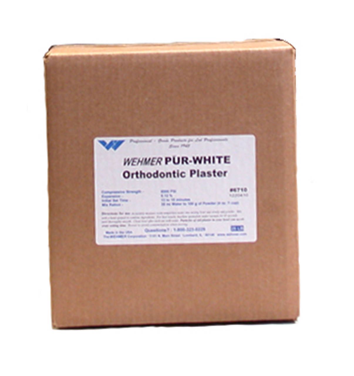 Pur-White Orthodontic Plaster - 25 lbs
