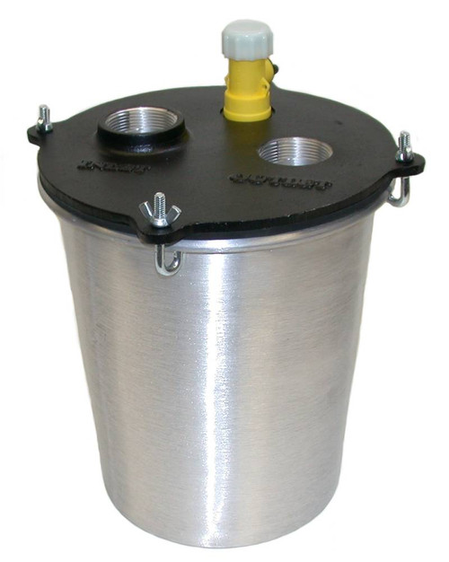 Aluminum Plaster Trap 2 1/2 Gallon