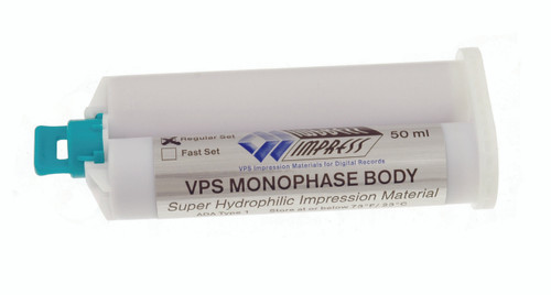 Impress™ VPS Super Hydrophilic Monophase Impression Material
