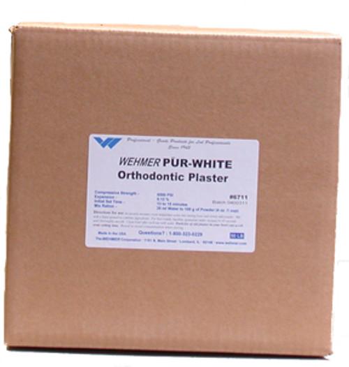 Pur-White Orthodontic Plaster - 50 lbs