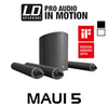 "LD Systems MAUI5 8"" 800W Ultra Portable Column PA System"