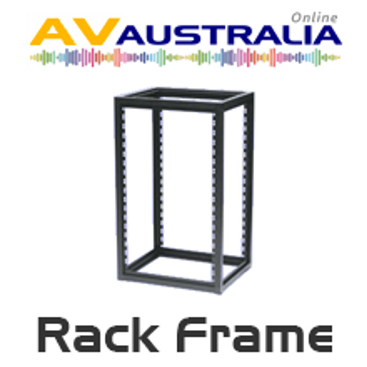 19 Quot 450 600 Mm Deep Open Frame Rack For Audio And