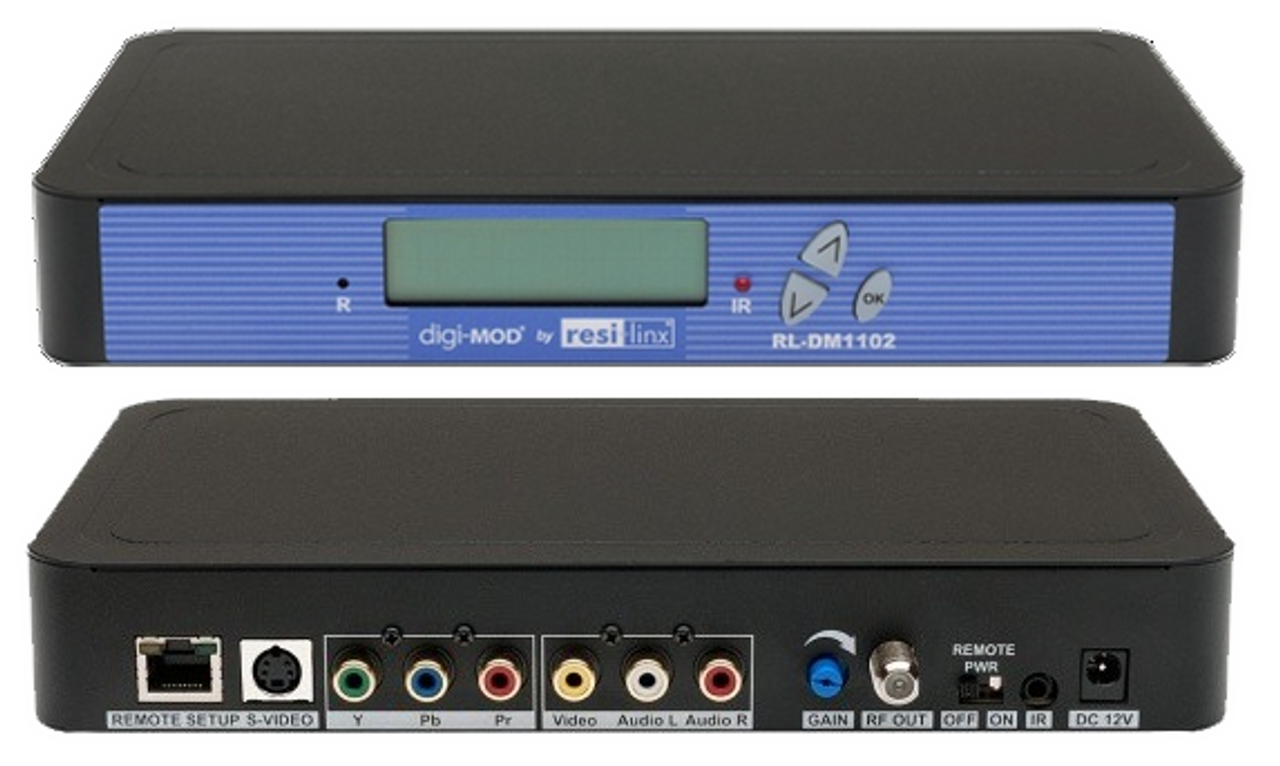 Resi-Linx DM1102M DVBT Single Input SD Digital IR Modulator