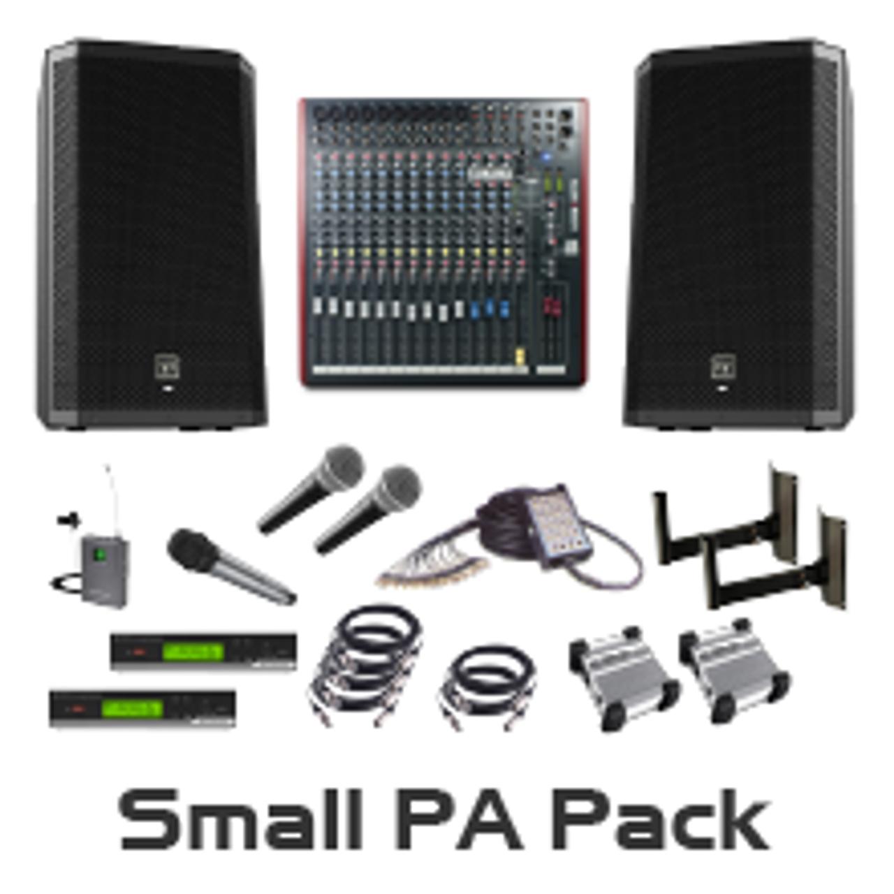 Small Auditorium Pa Package Av Australia Online