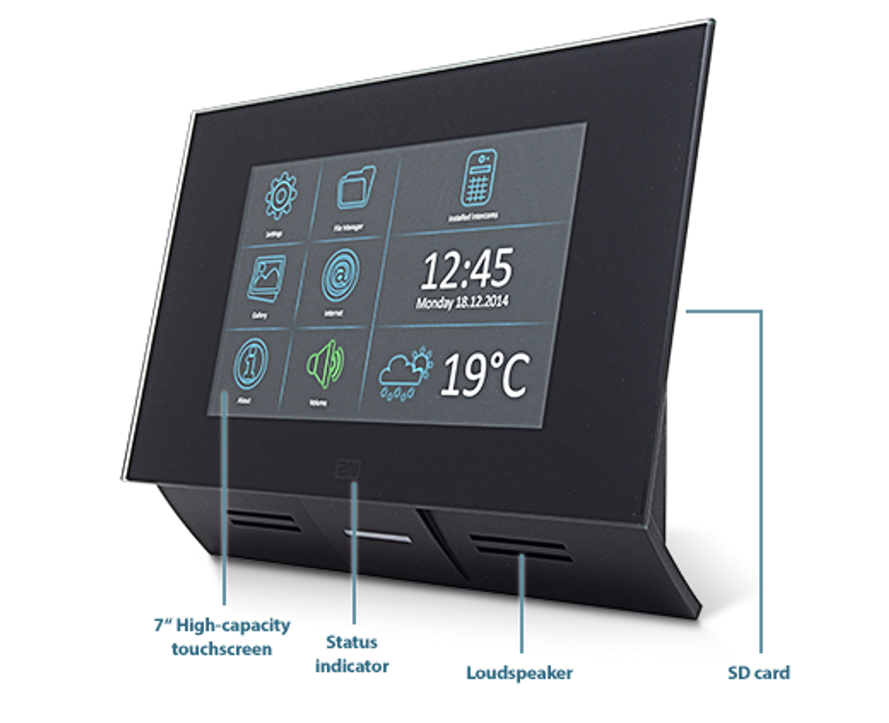 2n Indoor Touch 7 Quot Poe Wifi Ip Intercom Touch Panel