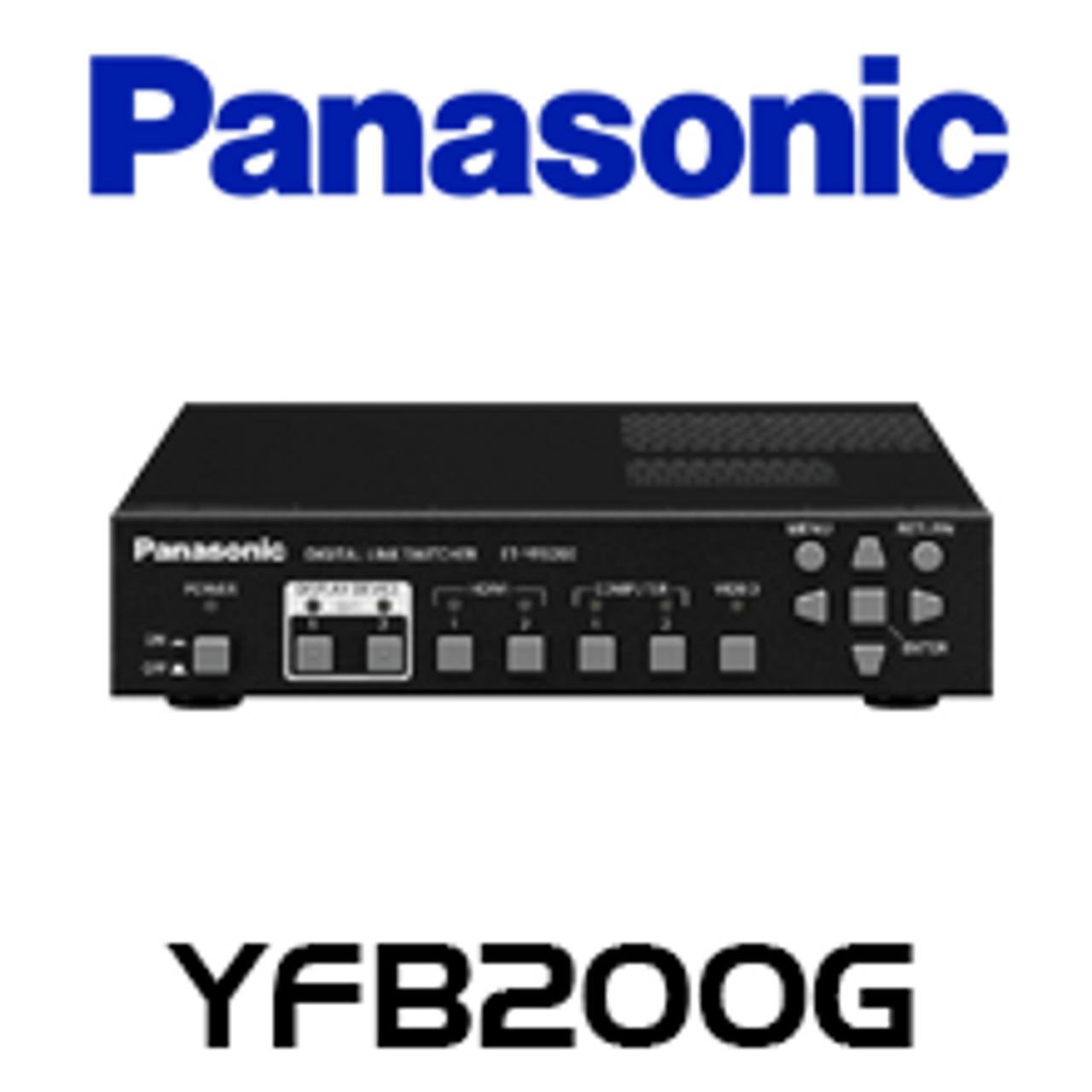 Panasonic Et Yfb200g Digital Link Switcher Box Av