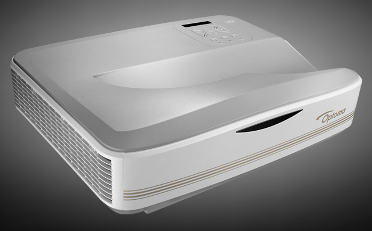 "Optoma LCT100 100"" Full HD Laser Ultra Short Throw DLP Projector"