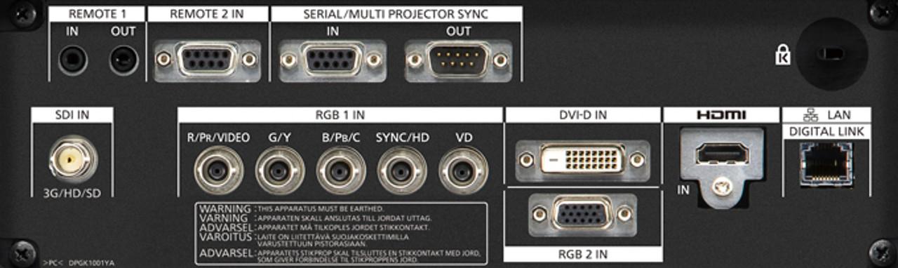Panasonic PT-RZ660 WUXGA 6000 Lumens Digital Link Laser 1-Chip DLP Projector