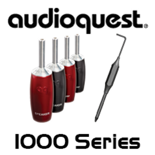 AudioQuest 1000 Series Banana Plugs (Set of 4)