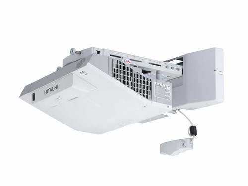 Hitachi CPTW3005WN WXGA Interactive Ultra Short Throw Projector With Wall Mount