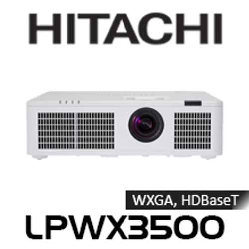 Hitachi LPWX3500 WXGA 3500 Lumen HDBaseT Edge Blending LED Projector