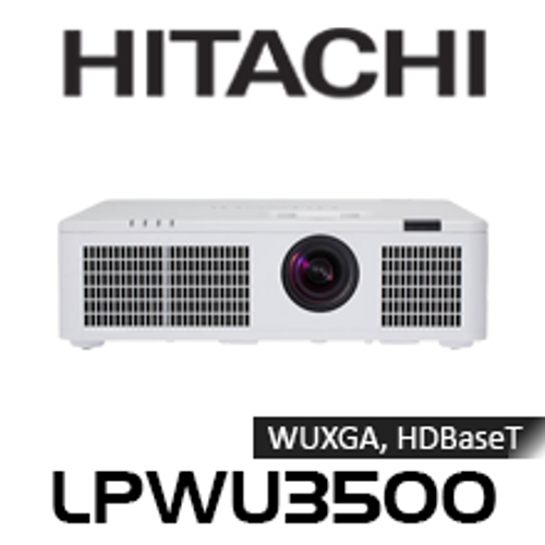 Hitachi LPWU3500 WUXGA 3500 Lumen HDBaseT Edge Blending LED Projector