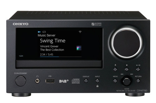 Onkyo CR-N775D Micro Network CD Receiver With DAB+ & Chromecast