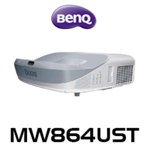 BenQ MW864UST WXGA 3300 Lumen Interactive Ultra Short Throw DLP Projector