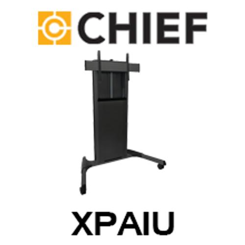 "Chief XPA1U X-Large Fusion 55-100"" Flat Display Height Adjustable Mobile Trolley"