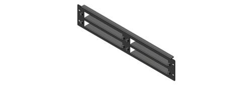 BluStream RSU-2RU Universal 2RU Rack Shelf Unit with 4x Vertical Blade Shelves
