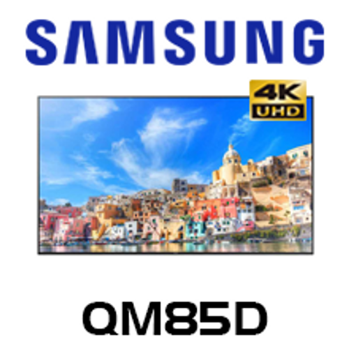 "Samsung QM85D 85"" 4K UHD Smart Signage LED Display"