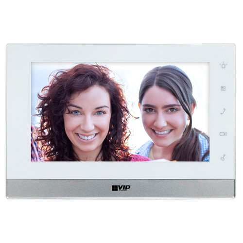 "VIP Vision 7"" Touchscreen 2-Wire IP Intercom Monitor"
