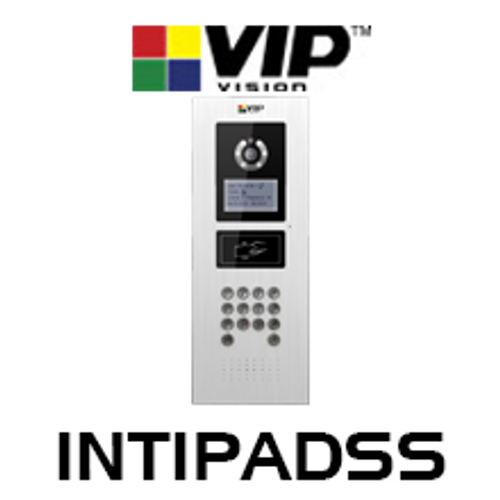 VIP Vision Apartment INTIPADSS Outdoor IP Video Intercom With IC Card Reader