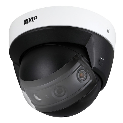 VIP Vision Panorama 8.0MP IP67 IK10 180° Panorama Dome IP Camera