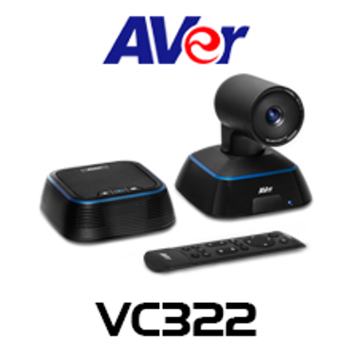 Aver VC322 4K Ultra HD PTZ USB Conference Camera