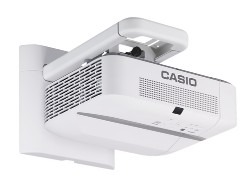 Casio XJ-UT311WBKT 3100 Lumen WXGA LED Ultra Short Throw Projector With Wall Mount